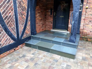Bluestone Porch